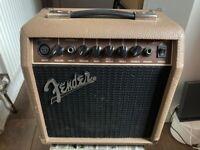 Fender Acoustasonic 15 Acoustic Guitar Combo