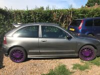 Selling my much loved and looked after zr xpower grey good condition long mot