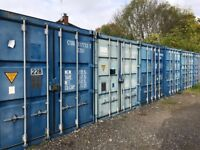 Secure Container Storage 20ft - Jct 13 M25 Household Vehicle Business Self Storage