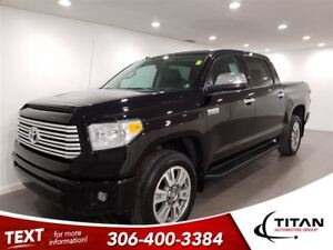 2016 Toyota Tundra Platinum Crewmax|Cam|Leather|Sunroof|Nav