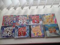 NOW CD's various 16 in total