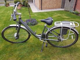 Gents Giant Hybrid Electric Bicycle