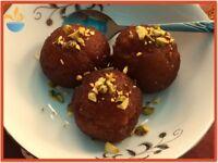 Nabz Biryaniz Homemade Gulab Jamun Indian Dessert - Halal. ***Collection*** Party Catering