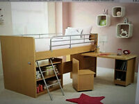 Dreams Hampshire Cabin Bed with mattress