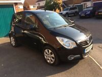 Vauxhall Agila Black Manual 2008