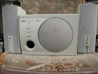 Yamaha Powered Speakers & Yamaha Active Stereo Processing Subwoofer