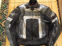 Ladies RST Leathers As New. Size 10 trousers 40 inch jacket.
