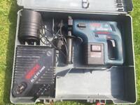Bosch cordless 24v sds drill set