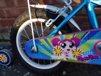 Girl's bike for 4-5 years old