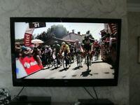 "42"" BUSH TV, FULL HD, DIGITAL LCD, + STEALTH MOUNT 40 -70"" TILTING WALL BRACKET"