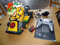Radio Control Car R/C Car Mario Bowser Kart 7 - Fast & Easy to Recharge with Everything Included
