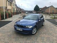 Bmw one series 118. 2.0 petrol reg 2007