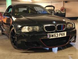 BMW E46 Cabriolet Wide Bodykit