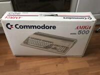 Commodore Amiga 500 Boxed computer