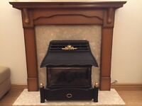 Emberglow Gas Fire & Surround