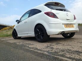Vauxhall corsa 1.2 limited edition 2014 ,