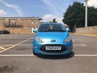 Ford KA 1.2 Titanium (s/s) 3dr£2,995 p/x Lovely for first time driver 2011 (60 reg), 51,000 miles