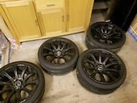 Bmw genuine m5 alloys