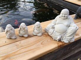 Stone Buddha Set Garden