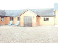 2bed 2bath unfurnished single storey cottage in courtyard