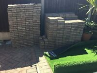 Block paving bricks to fit 25 sq metres