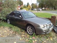 2003 MG ZT 2.0 CDTi turbo diesel, needs clutch, starts and drives, 18 inch alloys, mot expired,