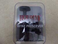 WINE PRESERVER - HOUDINI