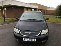 2002 Chrysler vovoger 2.5 crdi 7 seater 12 months mot/3 months warranty