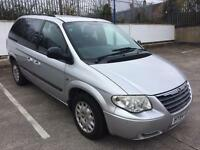 2004 CHRYSLER VOYAGER CRD SE 7 SEATER 2.5 TURBO DIESEL, DVD SCREENS, PLAYSTATION, READY TO GO