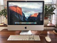 "iMac 24"" 2.8ghz cpu 4gb ram 320gb hdd"