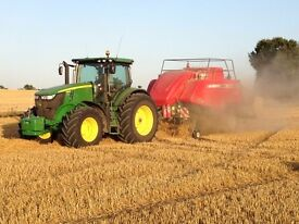 Due to having been let down, Baler driver still required. North Hertfordshire