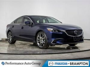2017 Mazda Mazda6 GT. CAMERA. NAVI. ROOF. BLUETOOTH. LEATHER
