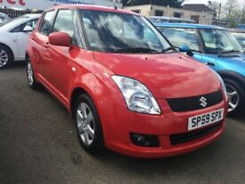 Suzuki Swift 1.3 GLX 5dr - 1 LADY OWNER. LOW MILEAGE. FULL SERVICE HISTORY