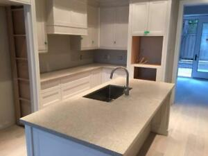 Amazing deal: $2199for Quartz countertop up to 40 sq.ft.