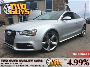 2013 Audi A5 2.0T PRESTIGE S LINE GROUP / NAV / LEATHER / ROOF