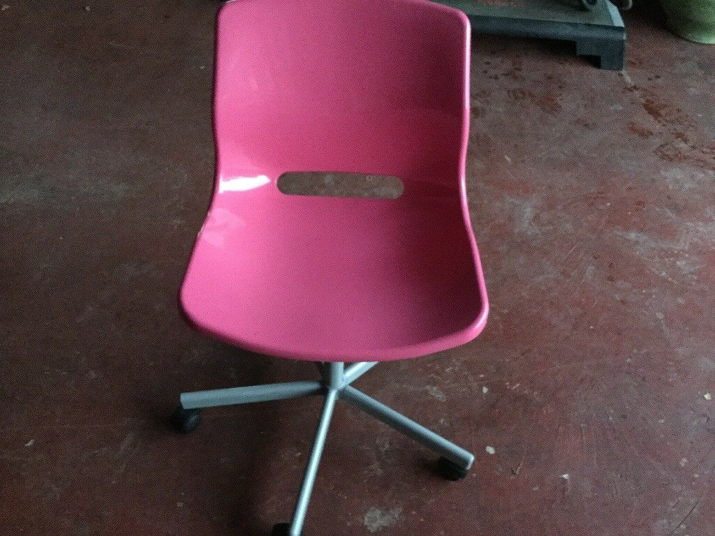 Two plastic swivel seats - ideal for office / home desk