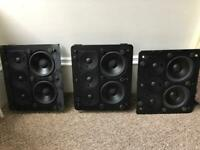 Miller & Kreisel MPS300 In-Wall speakers