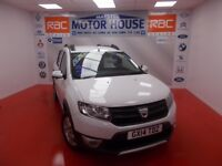 Dacia Sandero STEPWAY AMBIANCE DCI (FREE MOT'S AS LONG AS YOU OWN THE CAR!!!) (white) 2014