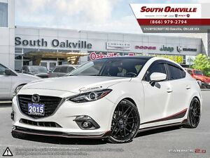 2015 Mazda Mazda3 GT | BACKUP CAMERA | HEATED LEATHER | NAVIGATI