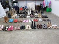 Ladies shoes, sandals, boots. size 3 / euro 36 ( 51 Pairs )