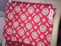 Green gate red tea towels x2