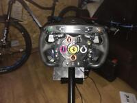 Thrustmaster T500rs & F1 wheel & playseat & buttkicker