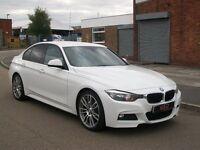 "BMW 3 SERIES 2.0 318d M Sport 4dr (start/stop) DAB,SATNAV,HEATED LEATHER,19""s 2013 13 REG"