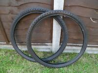 *26 x 1.95 SUPERDIAMOND ~ MOUNTAIN BIKE TYRES*Pair New