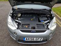 2007 Ford S-Max 2.0 TDCi Zetec 5dr Manual Diesel 7 Seater @07445775115 Last Owner 2011+2Key+Warranty