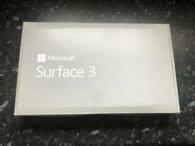 Microsoft surface 3 2-in-1 generation 3 + keyboard detachable type cover