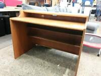 Solid Hard Wood Desk. Delivery Available