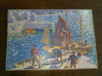 Vintage GWR wooden jigsaw puzzle