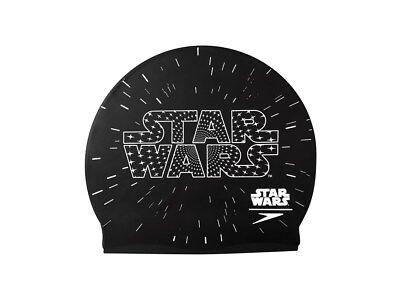 Speedo Junior Star Wars Cap Badekappe 8-08386C353 Schwarz Schwimmen Kinder Kappe