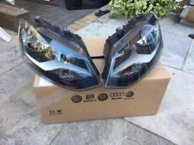 Volkswagen Polo 2012 Genuine Pair Of Headlights In Good Condition